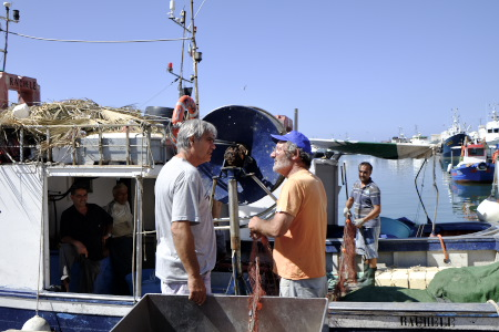 トラーパニ漁港