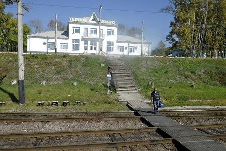 シベリア鉄道の車窓から