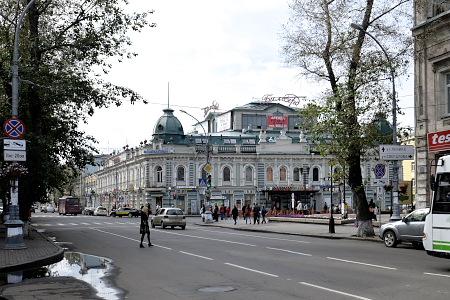 イルクーツク中心部