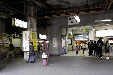 鶴橋駅改札口付近