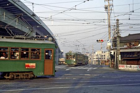 阿倍野交差点1979年
