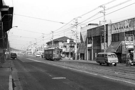 阿倍野交差点付近1979年