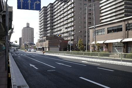 阿倍野交差点付近2016年