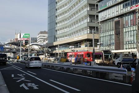 天王寺駅前2016年