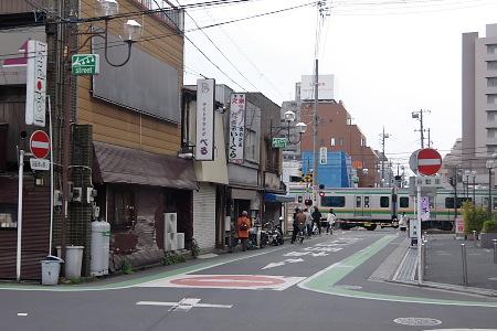 上尾駅北側