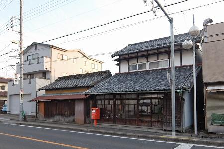 中山道上尾宿あたり