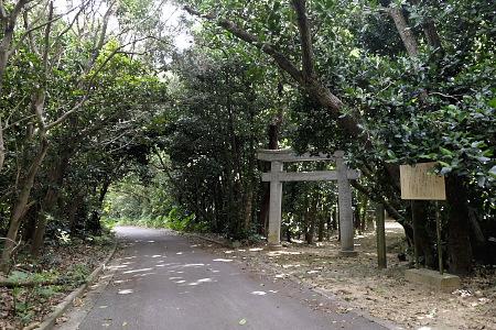 泊御嶽入口