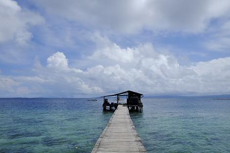 ラジャアンパットの海