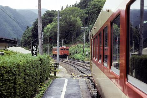 1988年の出雲坂根駅