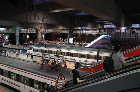 マドリード・アトーチャ駅