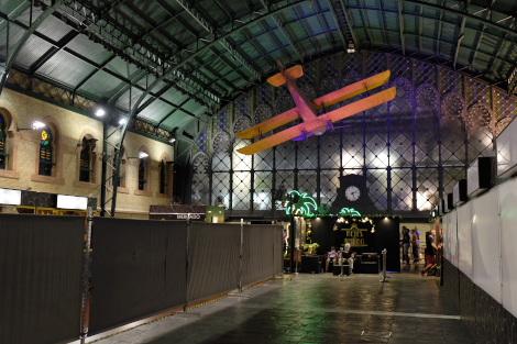 2018年のプラス・デ・アルマス駅跡