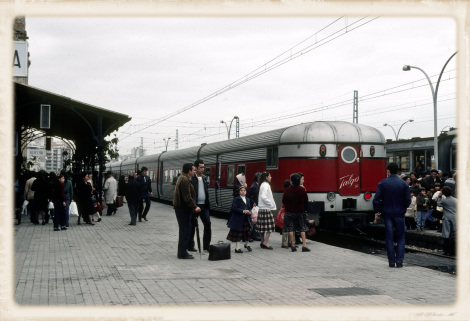 1981年のウエルバ駅