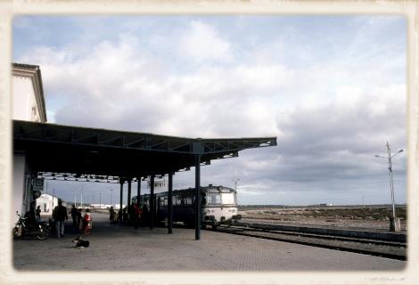 1981年のバスターミナル