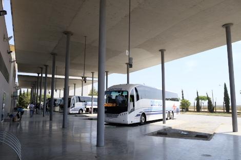 2018年のバスターミナル