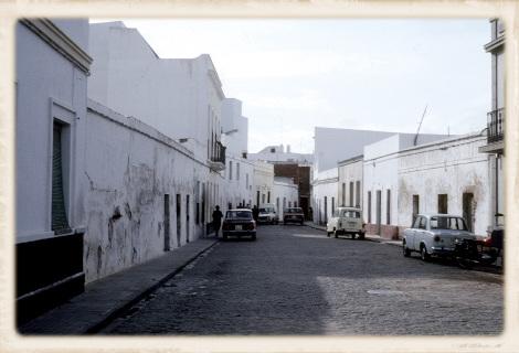1981年のアヤモンテの住宅街