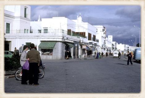 1981年のアヤモンテ中心部