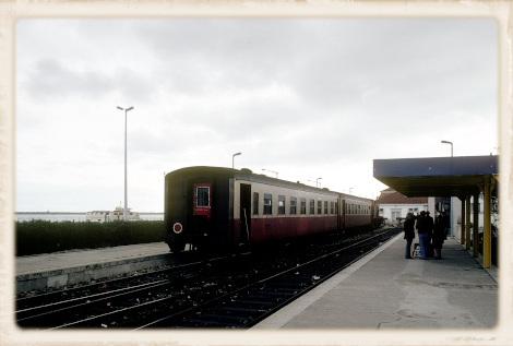 1981年のヴィラ・サント・アントニオ駅