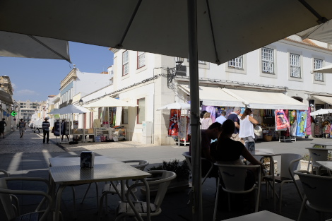 ヴィラ・レアル・デ・サント・アントニオの中心部