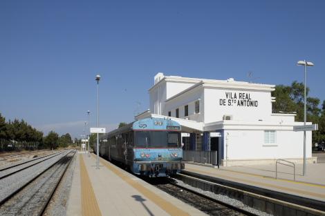 移転したヴィラ・レアル・デ・サント・アントニオ新駅