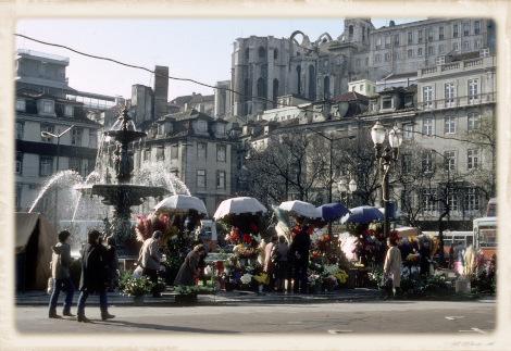 1981年のロシオ広場