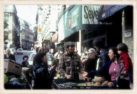 1981年のカモンイス広場