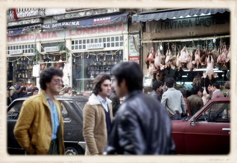1981年の都心部の風景