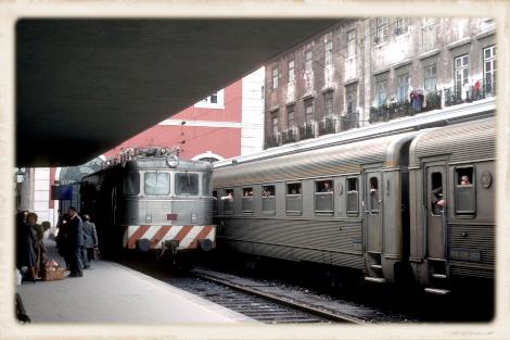 1981年のサンタ・アポローニャ駅