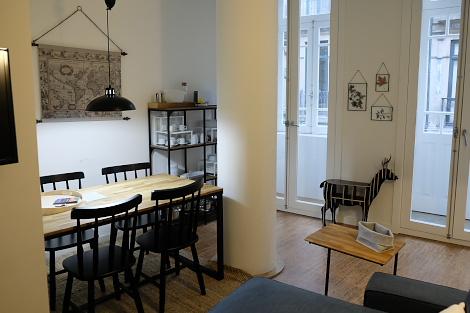ポルト旧市街のアパート