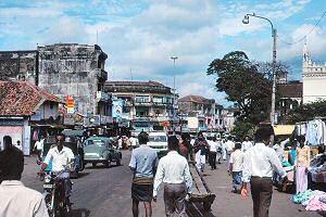 1989年のコロンボ市内