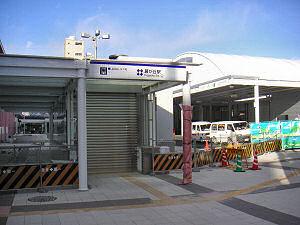 藤が丘駅のリニモ入口