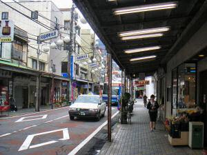 熱海市中心の清水町商店街
