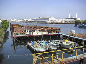 恵比寿運河