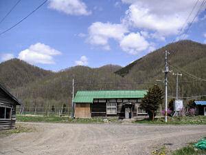 上白滝駅舎