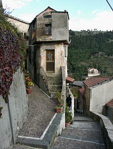 ティリオーロの階段道路