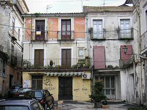 カタンザーロの旧市街