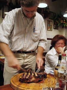 1キロのステーキ