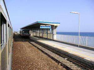 メーリト・ポルト・サルヴォ駅