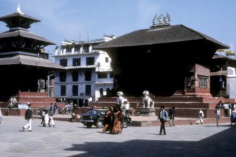 1989年のシヴァ・パールヴァーティー寺院