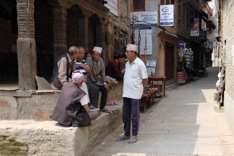 ネパールの親爺軍団
