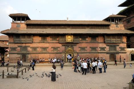旧王宮のパタン博物館