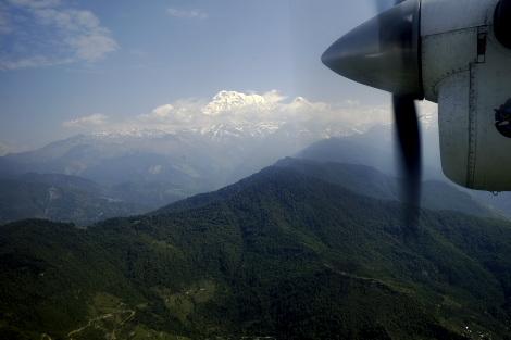 ヒマラヤの峰々