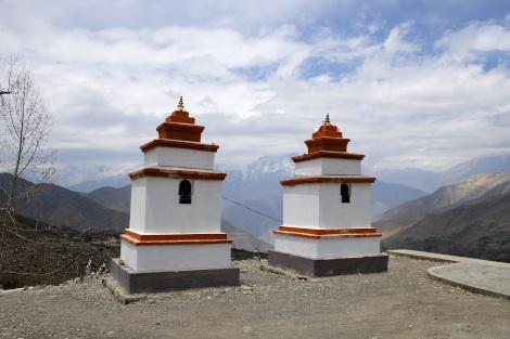 チベット仏教のパゴダ